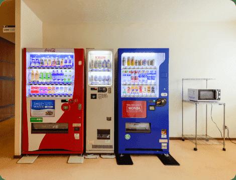 自動販売機電子レンジ